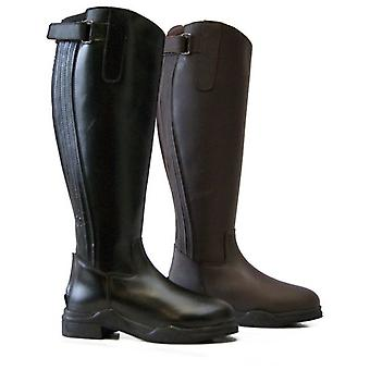 QHP Lyn Brown riding boots (Horses , Rider equipment , Clothes , Boots)