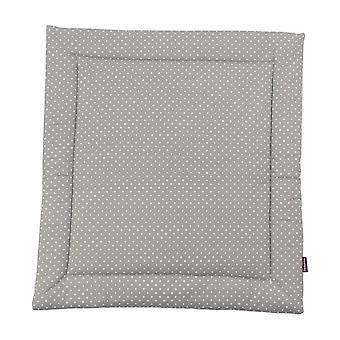 Sjalpute Finja, grå, 65x75 cm