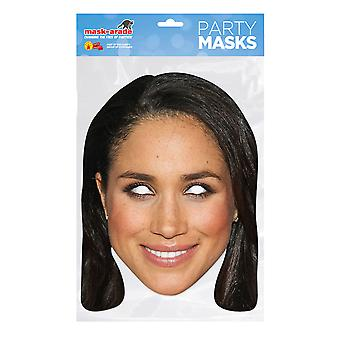Bristol Novelty Womens/Ladies Meghan Markle Card Mask