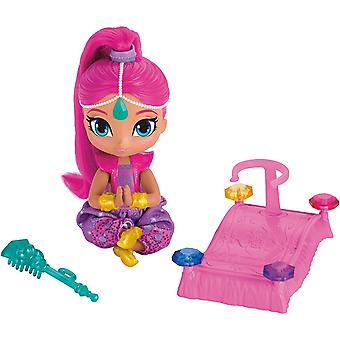 Fisher-Price reflejo y brillo flotante Genie brillo muñeca