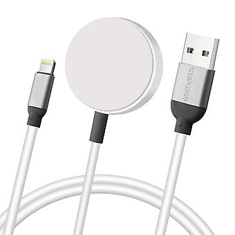 Lightning/Apple Watch Charge & Sync Cable 1m- 4Smarts- Voltbeam Mini, White