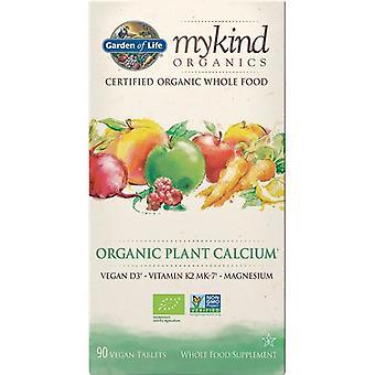 حديقة الحياة Mykind Organics العضوية مصنع قبعات الكالسيوم 90 (1222)
