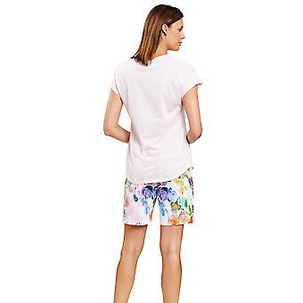 Rösch 1203118-15646 Naisten Apos;s Uusi Romanssi Fancy Monivärinen Kukka Pyjama Set
