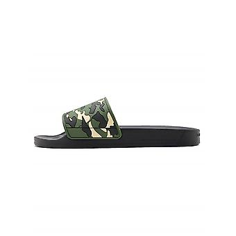 Android Homme Android Homme Camo Green Rubber Slider