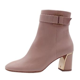 Högl 8-10 5143 Deluxe Stylish Ankle Boots In Rose