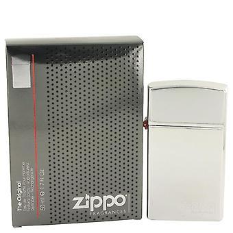 Zippo original eau de toilette spray rechargeable par zippo 531906 50 ml