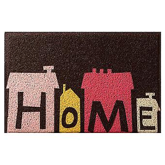 Hollow door mat dust collector water spray door mat, home decorative carpet, front door indoor and outdoor non-slip mat, washable