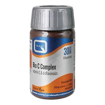 Quest Vitamins Bio C Complex Tabs 30 (601305)