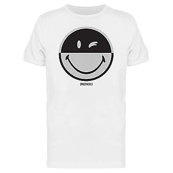 SmileyWorld Dotted Wink Face Men's T-shirt