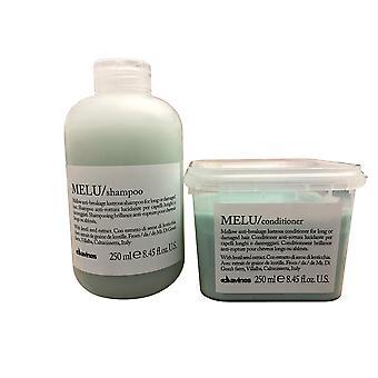 Davines Melu Anti Breakage Shampoo & Conditioner 8.45 OZ Set