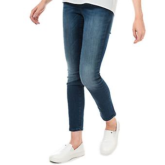 Women's Armani Exchange J45 Cigarette Fit Jeans in Blue