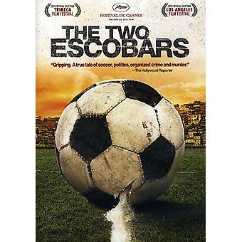 Two Escobars [DVD] USA import