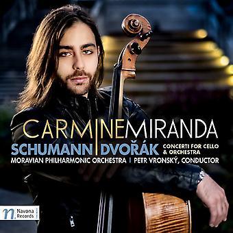 Dvorak, a. / Miranda, Carmine / Vronsky, Petr - Schumann - Dvorak: Concerti for Cello & Orchestra [CD] USA import