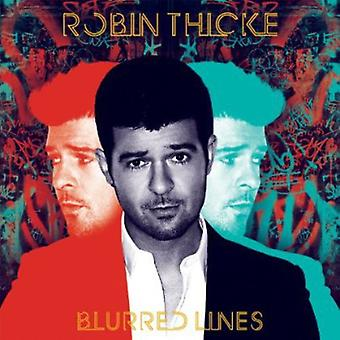 Robin Thicke - importation USA lignes floues [CD]