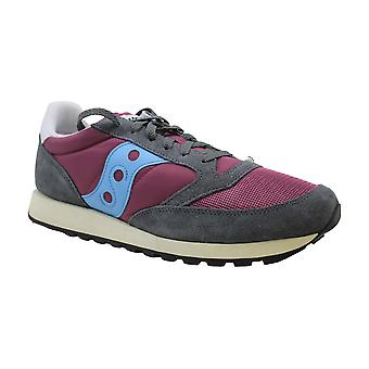 Saucony Women's Shoes Jazz Original Leather Low Top Lace Up Fashion Sneakers