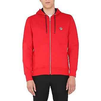 Ps By Paul Smith M2r360rze2007529 Men's Red Cotton Sweatshirt