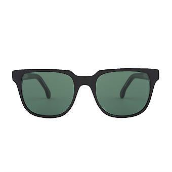 Paul Smith AUBREY PSSN010V1 01B Black Ink/Green Sunglasses