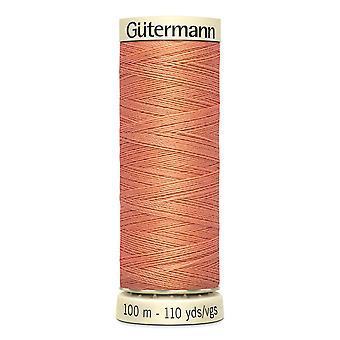 Gutermann Ommella kaikki 100 % Polyesteri Thread 100m käsi ja kone värikoodi - 587