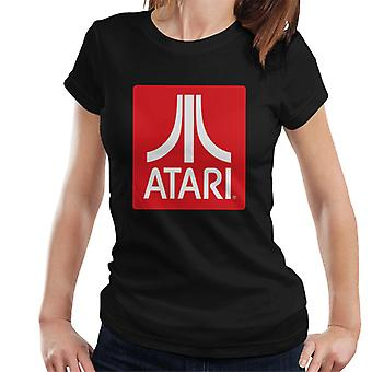 Atari Classic Red Block Logo Kvinnor & Apos; s T-shirt