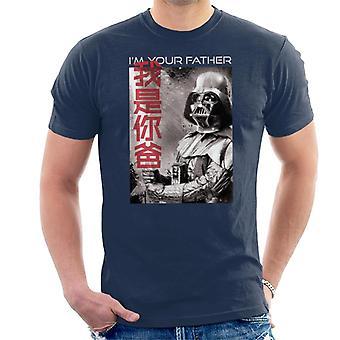 Star Wars Soy tu padre Hombres's Camiseta