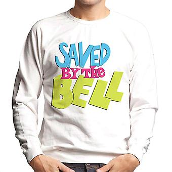Saved By The Bell Coloured Logo Men's Sweatshirt