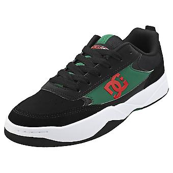 DC Shoes Penza Mens Skate Trainers in Black Green