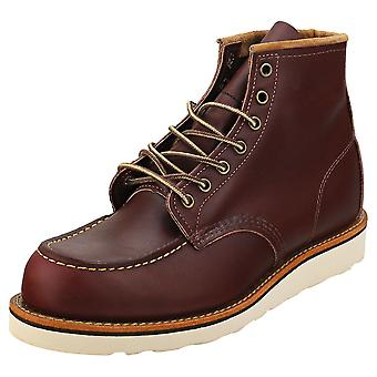 Red Wing 6-inch Moc Toe Mens Classic Boots in Oxblood