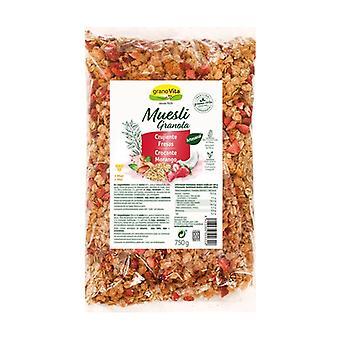 Crunchy Müsli med jordbær 750 g