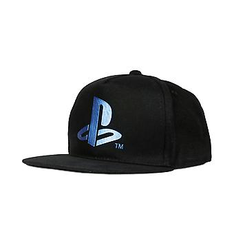 Playstation Metallic Blue Girls Baseball Cap | Official Merchandise