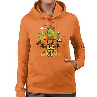 The Good The Bad And The Cactus Cowboy Women's Hooded Sweatshirt