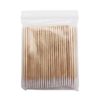 Wooden Cotton Swabs Stick For Ears Cleaning ,eyebrow Lips Eyeliner Tattoo