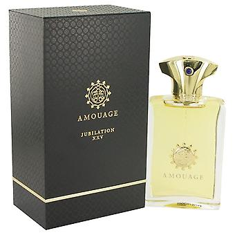 Amouage Jubilation Xxv Eau De Parfum Spray By Amouage 3.4 oz Eau De Parfum Spray