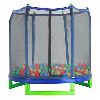 100 Crush Proof Soft Plastic Ball Pit Balls for Trampoline Play Tent Ball Pools