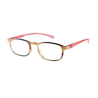 Óculos de leitura Unisex Le-0192A Belle havanna força vermelha +1,00