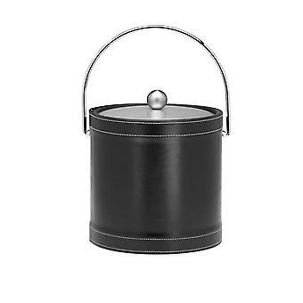 Stitched Negro 3 Qt. Cosido W/ Bale Handle Ice Bucket