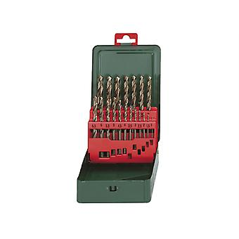 Metabo HSS-CO Drill Bit Set 19 Piece MPT627157