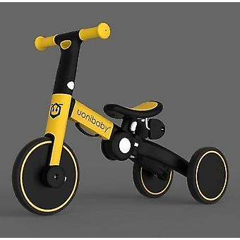 4  Into 1 Bicycle Tricycle Two Wheel Bike Foldable Baby Balance Bike, Kids