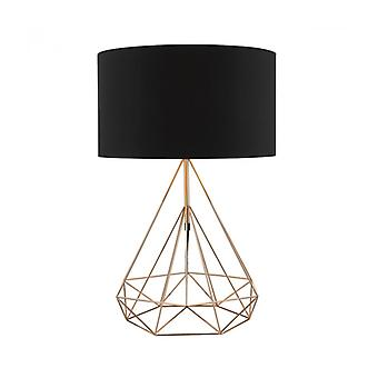 Sword Table Lamp Copper And 1 Bulb
