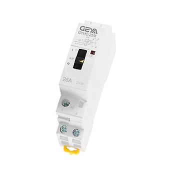 Household Din Rail Type Modular Contactor With 2p