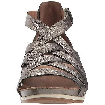 dansKO Womens Vivian Leather Open Toe occasionnels Strappy Sandals