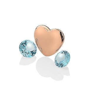 Anais Hot Diamonds Anais Rose Gold Plated Sterling Silver December Charm AC044