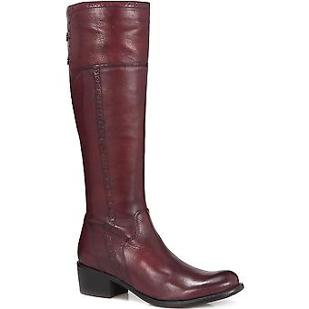 Jones Bootmaker Womens Slim Fit Leather Riding Boot