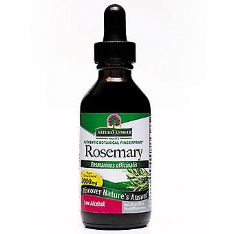 Nature's Answer Rosemary Leaf, LOW ALCOHOL, 2 OZ