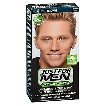 Just For Men Hair Color, Light Brown 1 each