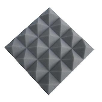 Studio Acoustic, Soundproof Foam, Pyramid Treatment Panel For Tile Wedge,