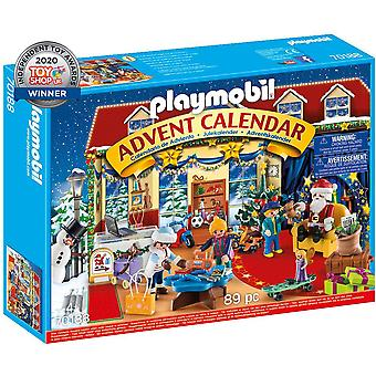 Playmobil 70188 christmas advent calendar playset 89pcs for ages 4 and above
