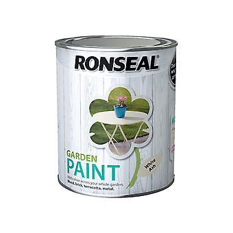 Ronseal Garden Paint White Ash 750ml RSLGPWA750
