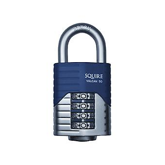Henry Squire Vulcan Open Boron Shackle Combination Padlock 40mm HSQVC40