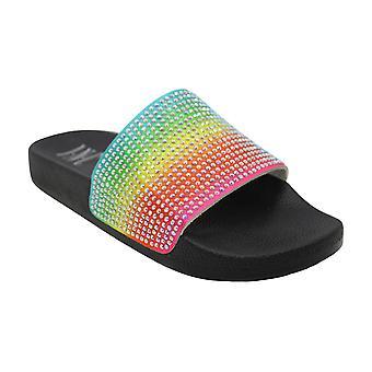 INC International Concepts Womens peymin28 Open Toe Casual Slide Sandals