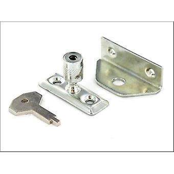 Securit Locking Window Catch Zinc S1035